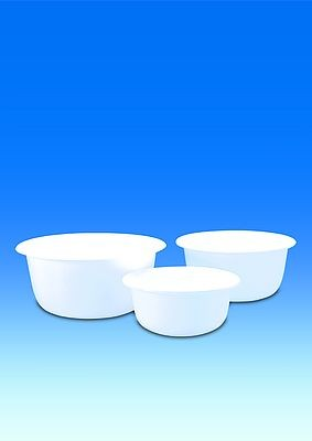 Bowl, PP white, round, Ø 200 mm, 1,7 l