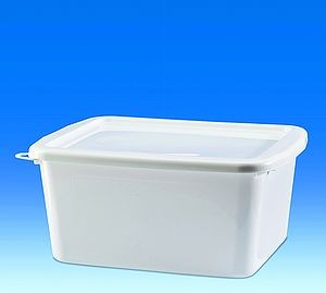 Bowl, PP white, for steel sinks, 17l
